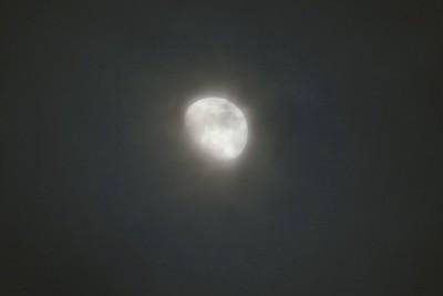 Moon & Overcast 2016-01-19